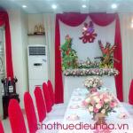 Cho thuê điều hòa phục vụ tiệc cưới