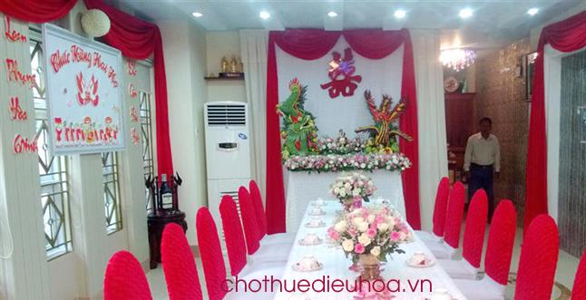 Cho thuê điều hòa phục vụ tiệc cưới tại nhà